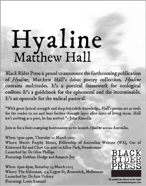 Hyaline Launch invite